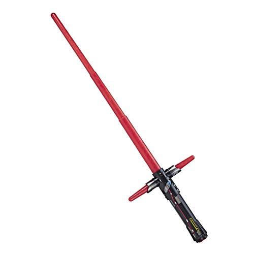 Hasbro Star Wars Kylo Ren Elektronisches Rotes Lichtschwert mit Lichter und Sounds