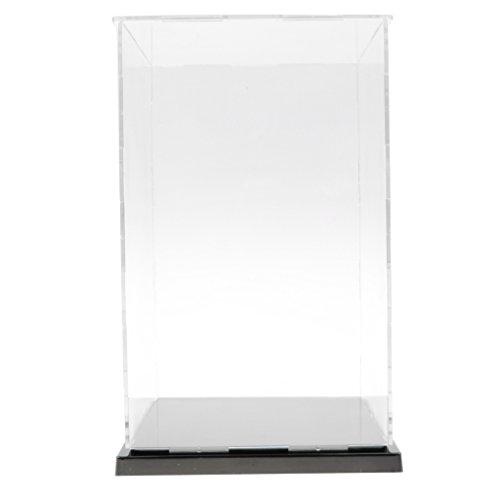 CUTICATE Vitrina de Acrilico Caja de Exhibicion Transparente Expositor a Prueba de Polvo para Figura de Accion, Modelo 3D, Estatuas Coleciconable - 13x13x21cm