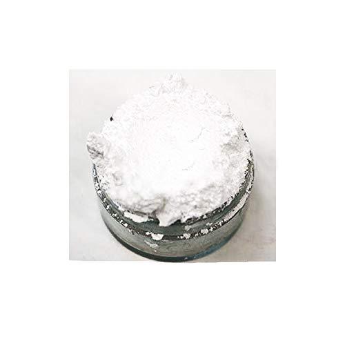 KandyDip Effektpigment NEON Weiss White Flourescent FLUORESZIEREND Farbpulver Pigment für Epoxidharz Autolack Sprühfolie Pigmente Aquarell Seife Powder (25 Gramm)