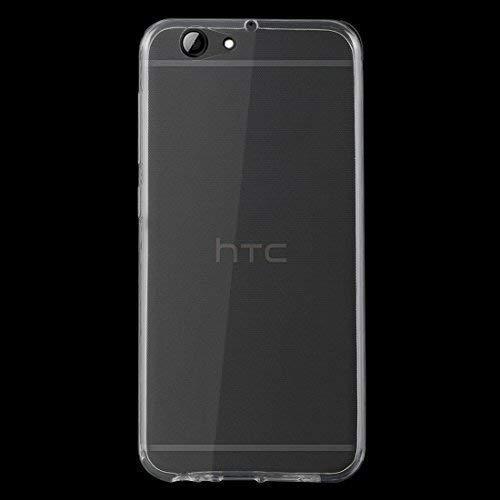 HTC One A9s Schutz Hülle Silikon Cover Tasche Schutzhülle Bumper Transparent Etui