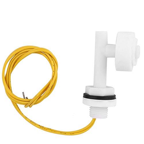 xiangxin Interruptor de Nivel, Sensor de Nivel de pecera Duradero de bajo Consumo de energía, plástico PP práctico para Coche, Barco, Alarma de sótano, hidroponía DC220V