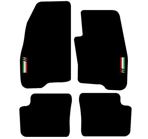 PSSC Pre Cut Front Car Window Films for Alfa Giuiletta 5 Door Hatchback 2010 to 2016 05/% Very Dark Limo Tint