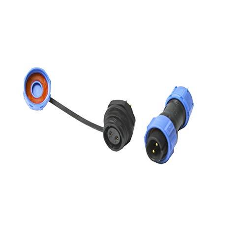 Rouku SP13 SP17 Std Series IP68 Waterproof Circular Multipole Plug & Socket Connectors After Nut 3D Printer Parts