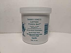 Danny King Catfish Punch Bait Garlic Fishing Equipment, 14 oz