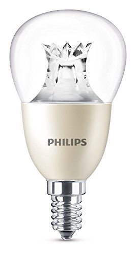 Philips Lighting Bombilla gota E14 LED, 3 W, 60 W