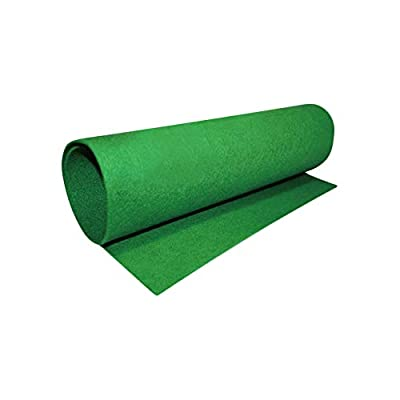 Moisturizing Reptile Carpet Green Fiber Mat for Bearded Dragons Tortoise (23.6x15.7inch) from GFEU