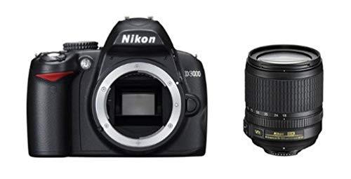 Nikon D3000 SLR-Digitalkamera (10 Megapixel) Kit inkl. 18-105mm 1:3,5-5,6G VR Objektiv (bildstab.)