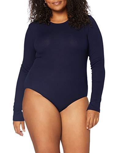 Marca Amazon - MERAKI Trajecito de Algodón Mujer, Azul (Navy), S, Label: S
