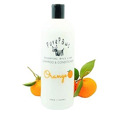 Pure Paws Orange Shampoo & Conditioner | Vitamin B5 & Aloe Vera | 32oz