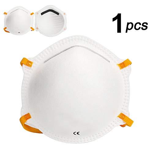 ZAWTR 1 PC Protección de respiración Boca Cara (Blanco