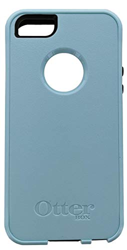 OtterBox Commuter Series for iPhone SE (1st Generation ONLY), iPhone 5S, iPhone 5 - Non-Retail Packaging - Bahama Blue/Black