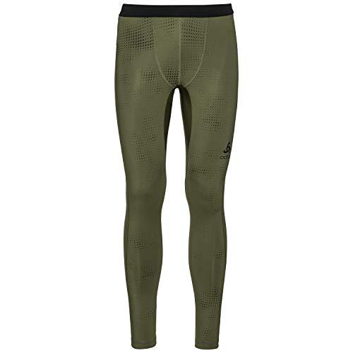 Odlo Vigor Collant Pantalon Long pour Homme XXL Winter Moss AOP