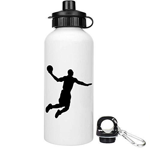 Azeeda 600ml 'Basketball-Spieler' Trinkflasche / Wasser-Flasche (WT00027067)