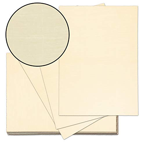 25x echt Bütten-Papier ca. A4 edles Brief-Papier - unregelmäßig wild-gerippt - Vintage-Papier handgemacht, Chamois, 115 g/m² - von Zerkall Bütten