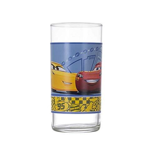 Luminarc Disney Pixar | Lightning McQueen | Enfants buvant des verres | Verres tasses verre | Verre à boire 270ml de Luminarc
