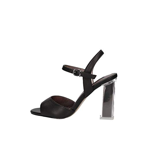 LUCIANO BARACHINI Cc251s Chaussures à Talons chèque Femme Noir 40