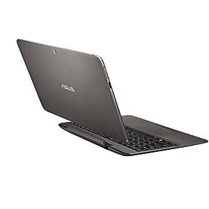 ASUS Transformer Book T100HA-C4-GR 10.1-Inch 2 in 1 Touchscreen Laptop (Cherry Trail Quad-Core Z8500 Processor, 4GB RAM, 64GB Storage, Windows 10), Gray