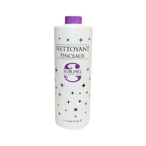 Ocibel - Nettoyant Pinceaux - 1000 ml (1L) - Manucure, Faux Ongles et Nail Art