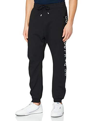 G-STAR RAW Mens Moto Mixed Mesh Sweatpants, dk Black C541-6484, L