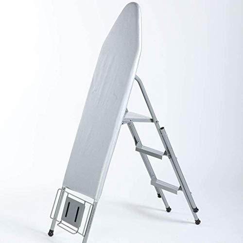 YWAWJ À Double Usage Planche à Repasser antidérapante échelle Balcon extérieur Planche à Repasser Respirant Planche à Repasser Convient for Appartement Vestiaire Blanchisserie Fournitures Taille: 106
