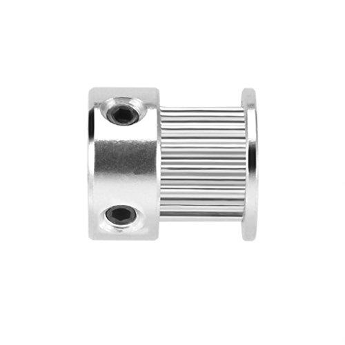 ELENXS 2GT 16 Zähne 5mm Bohrung Synchron-Rad-Idler Pulley Modell Werkzeuge Zubehör für 6 mm Breite Zahnriemen