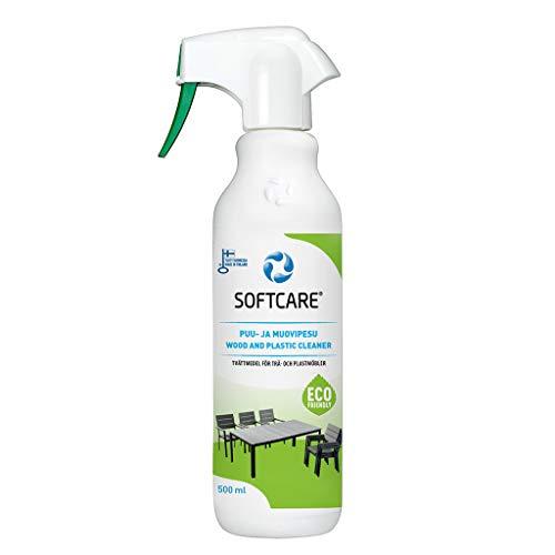 M-SOLUCIONES - Softcare Limpiador para Madera y Plástico. Especialmente para Muebles de Jardín