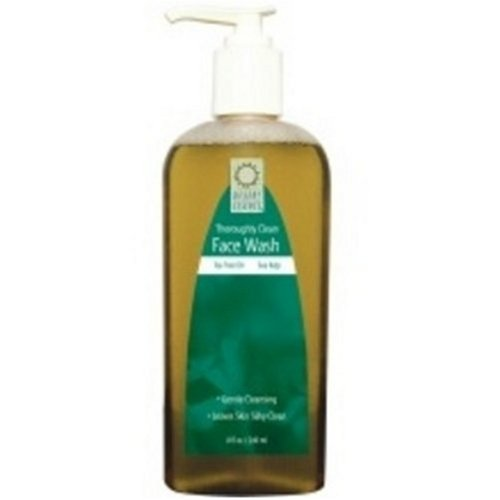 Desert Essence Face Wash Thoroughly 最新アイテム of Pack Clean 3 アウトレット 8-Ounces