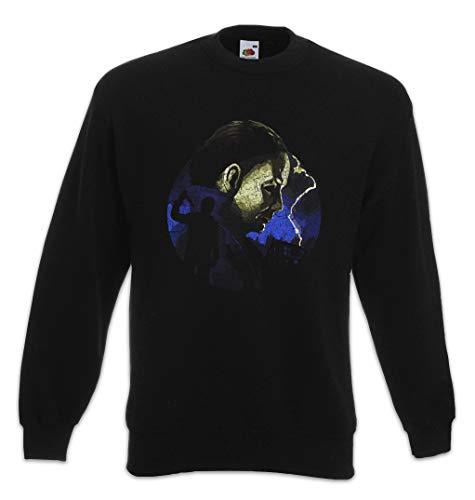 Urban Backwoods Myers Lightning Sweatshirt Pullover Schwarz Größe 2XL