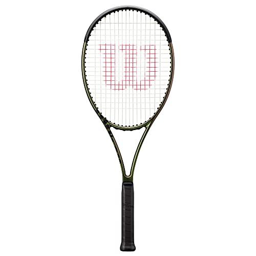 Wilson Blade 104 v8 Unstrung Tennis Racquet – 104 / 4 1/8 / 27.5