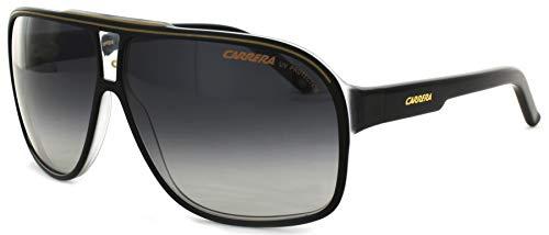 Carrera - Occhiali da sole da uomo Grand Prix 2 2M2 (nero/oro), 64 mm