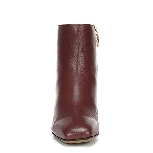 Franco Sarto Womens Marquee Ankle Boot, Wine Leather, 6.5 M US