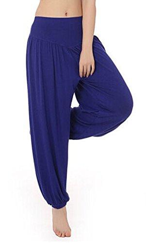 MEISHINE® Mujer Pantalones de Yoga Algodón Modal Harem Pantalón Polainas por Danza,...