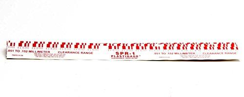 Sealed Power SEASPR1-12 Plastigage (Red.002in-.006in)
