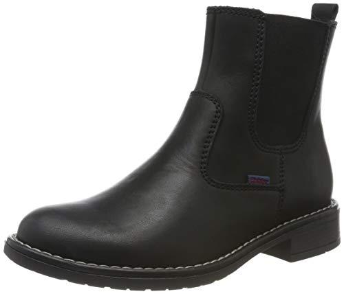 Richter Kinderschuhe Mädchen Mary Chelsea Boots, Schwarz (Black 9900), 34 EU