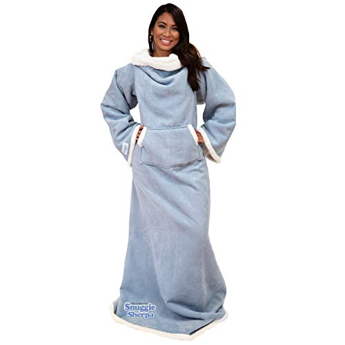 Snuggie Sherpa- The New & Improved Wearable Blanket That Has