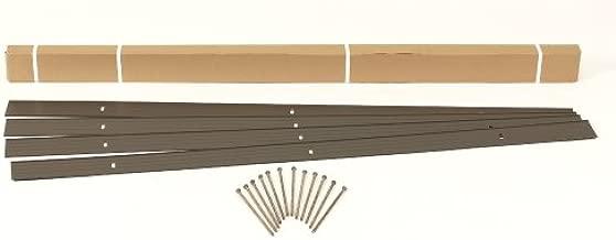 Dimex EasyFlex Aluminum Landscape Edging Project Kit, Will Not Rust Like Steel, Bronze (1806BZ-24C)