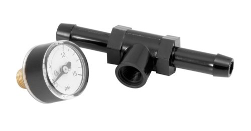 Spectre Performance 59013 Fuel Pressure Gauge with Fitting