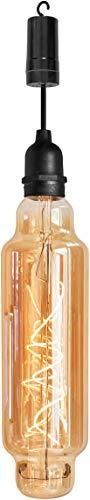 Luxform - Lámpara colgante con tubo de iluminación (funciona con pilas, temporizador de 24 horas)