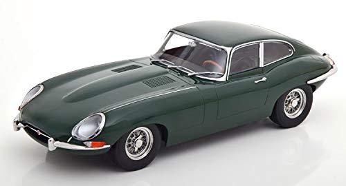 KK-Scale Jaguar E-Type Coupe Linkslenker Dunkel Grün 1961-1974 limitiert 1 von 500 Stück 1/18 Modell Auto mit individiuellem Wunschkennzeichen
