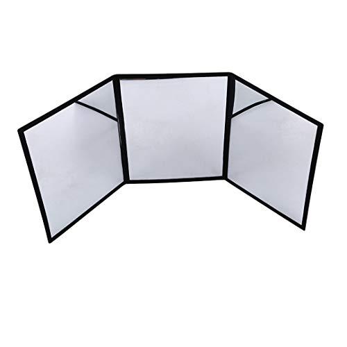 HNCE 3-Wege-Spiegel Übungsspiegel für Kartenmagie Gimmick Illusionen Zaubertricks Zubehör Stage Magic Prop