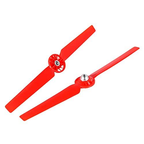 Hélice de dron 8pcs hélices/Ajuste for Yuneec Typhoon Q500 Drone Q500m 4k Lanzamiento rápido de Auto-Bloqueo CW CCW Piezas de Repuesto de Acoplamiento de reemplazo (Color : Red)