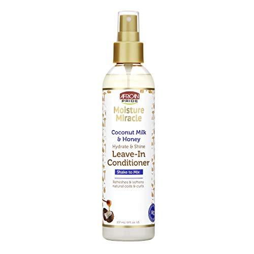 African Pride Coconut Milk & Honey Leave-In Conditioner 236ml