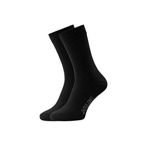 JACK und JONES Herren Socken JJJENS SOCK 12er Pack, Größe:one size;Farbe:Black