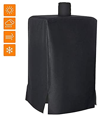 NEXCOVER 73550 Pellet Smoker Cover, 600D Heavy Duty BBQ Grill Cover for Pit Boss Grills 77550 5.5 and 5 Series PBV5P1, pro Series 4 Vertical Pellet Smokers PBV4PS1