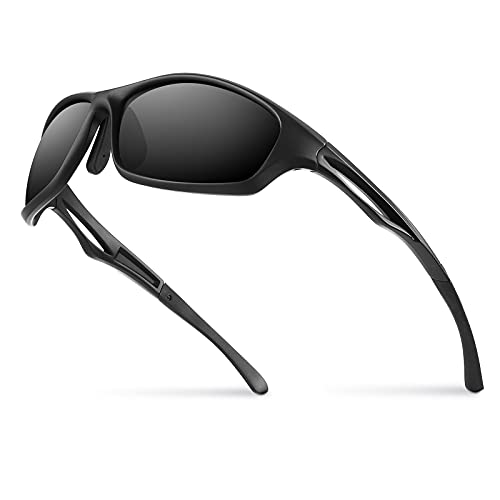 Bloomoak Polarized Sport Sunglasses - UV 400 Protection / Tr90 Superlight...