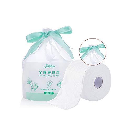 1 Pack zacht verwijderbare katoenen Weefsels Wegwerp Non-woven katoenen Pad voor het verwijderen van gezicht oog