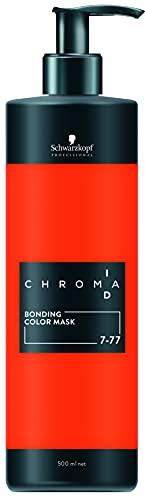 Schwarzkopf ChromaID Copper Bonding Color Mask Shades 7-77, 500-Milliliters