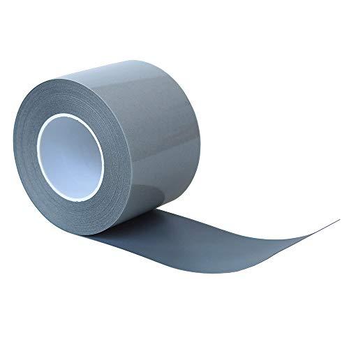 Silver Reflective Iron On Tape Heat Transfer Vinyl Film Wide 50mm (2) (2 x 33ft)