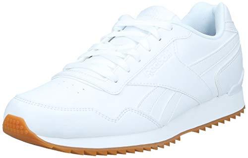 Reebok Royal Glide Ripple Clip, Zapatillas Clasicos para Hombre, Blanco (White/Gum), 43 EU