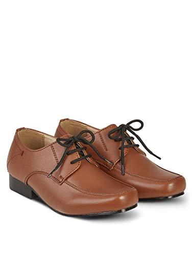 V.C. Festliche Kinderschuhe Jungen Anzug Kommunion Schuhe braun 23